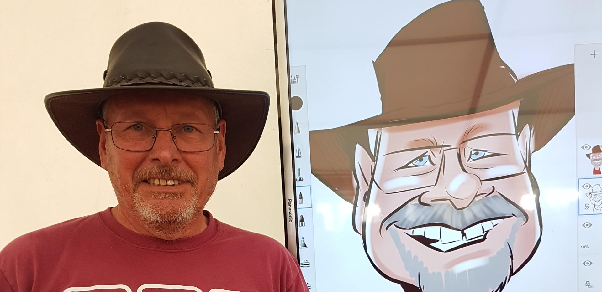Live Digital Caricatures