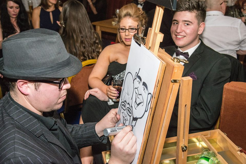 Charity Event Caricatures