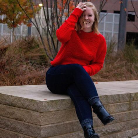 Kelsey Bigelow Laughing Headshot