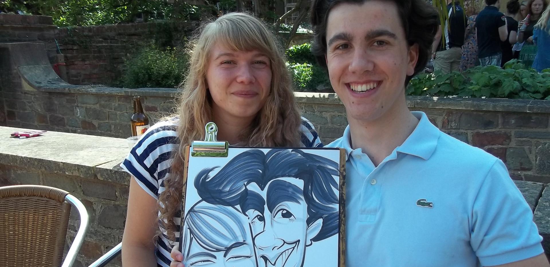 Student Event Caricatures