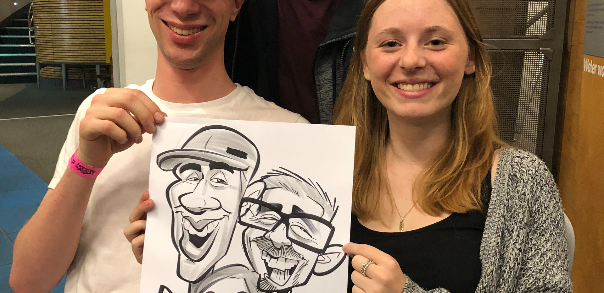 Work Party Caricatures