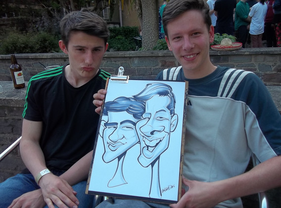 Student Event Caricatures