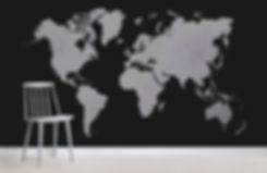 FormatFactorychalk-board-world-map-maps-