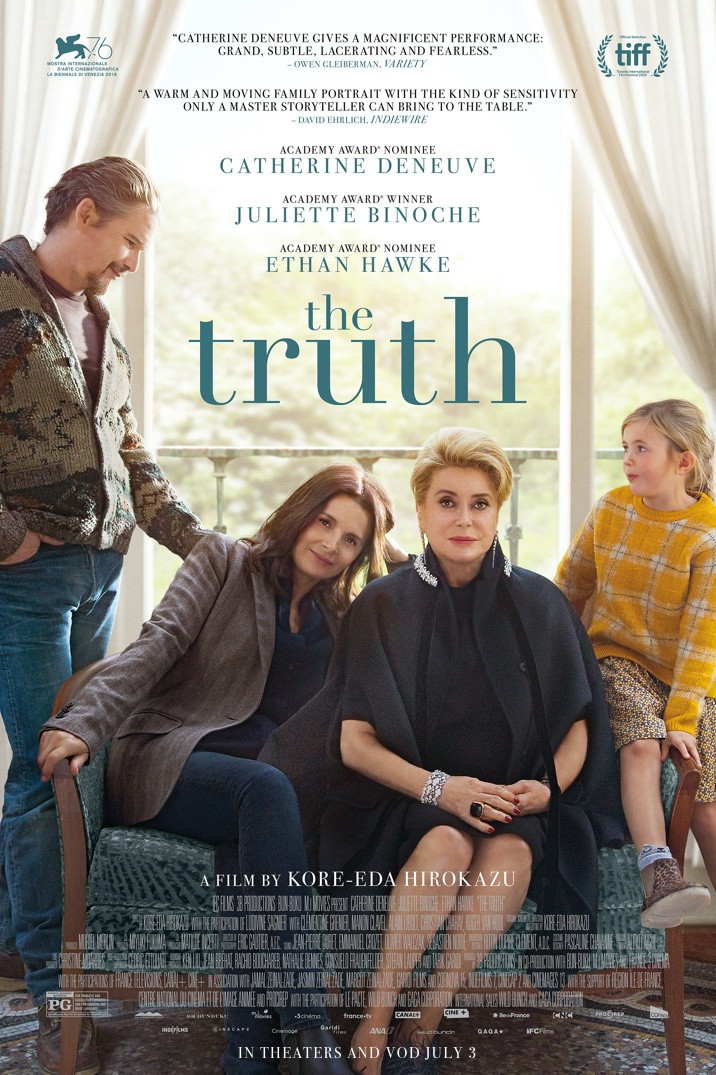 France Where You Are Best of French Cinema great French films film of the week The Truth starring Catherine Deneuve and Juliette Binoche