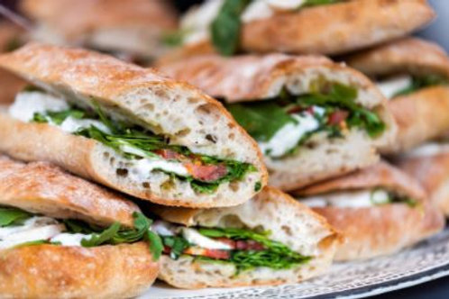 Mixed Vegan Ciabattas/Focaccias (VE) (N)