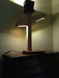 Abstract Accent Lamp