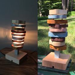 """""""Sliced"""" Lamp"""