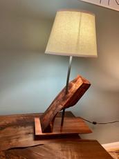 Koa Slant Lamp #2