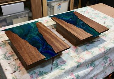 River Sconces--Custom Design