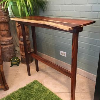 Cocobolo Console Table