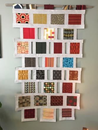 Mid Century Modern Blocks Quilt