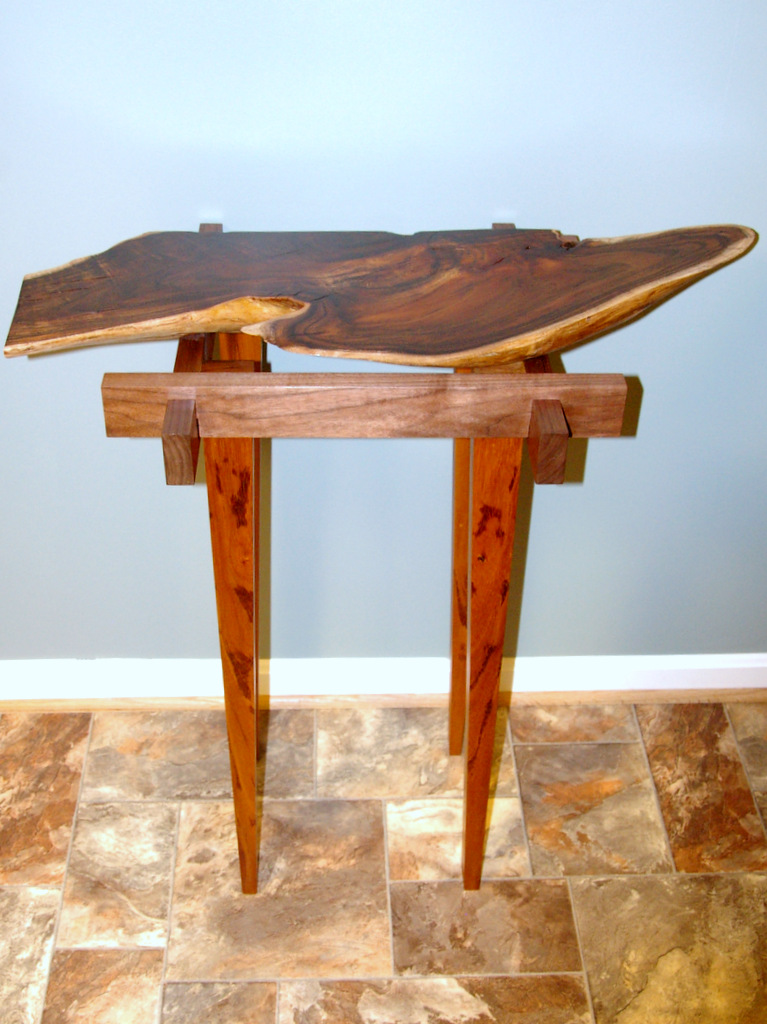 Live Edge Koa Console Table