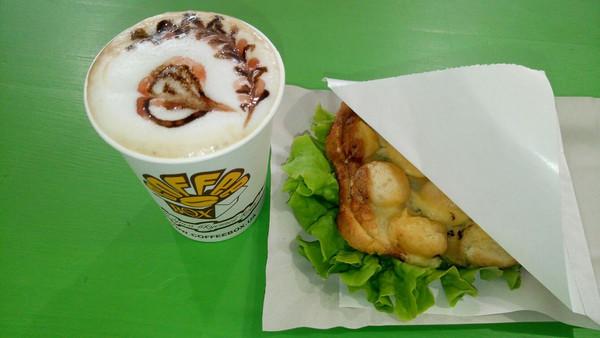 Новинка в меню CoffeeBox- Bubble-сэндвич!!!