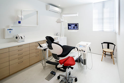 歯科医師の診察室の写真
