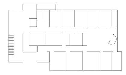 伊藤デンタルクリニック1階見取り図