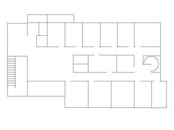 伊藤デンタルクリニック2階見取り図