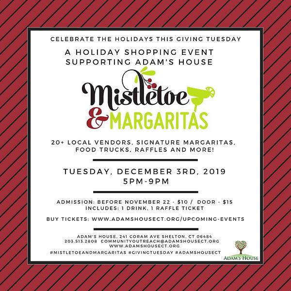 Giving Tuesday Mistletoe & Margarita