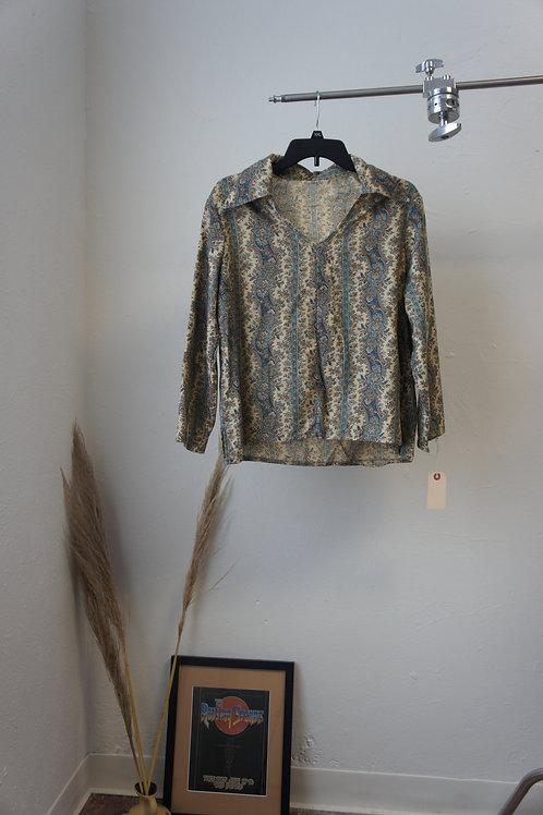 70's Homemade Collared Tunic