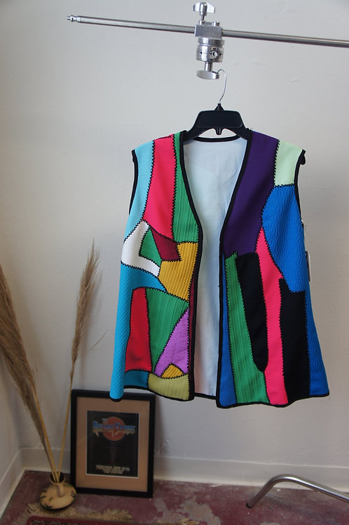 70s Handmade Patchwork Vest