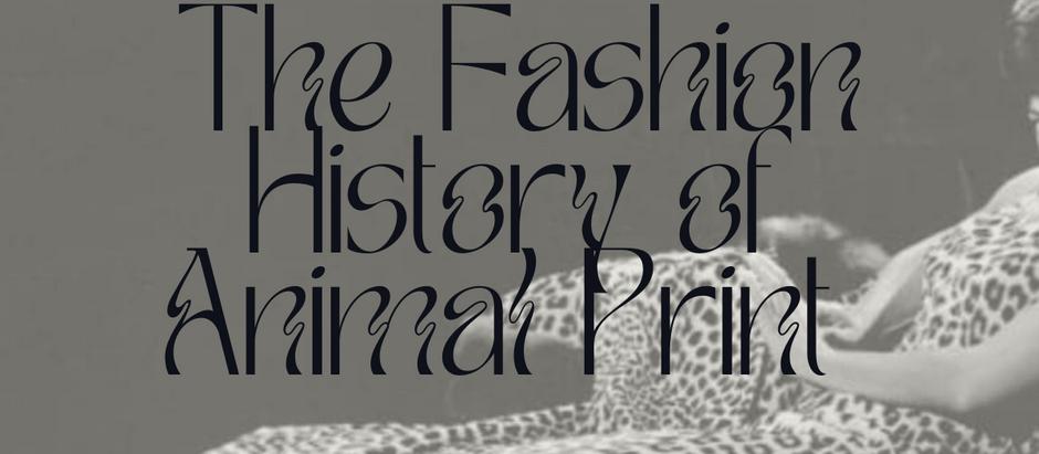 Fashion History of Animal Print