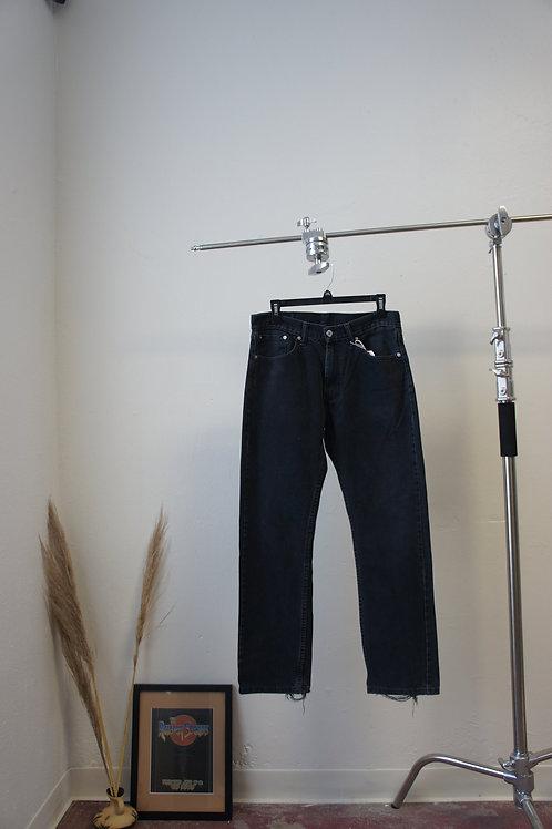 Vintage Black Levis' 505 Jeans