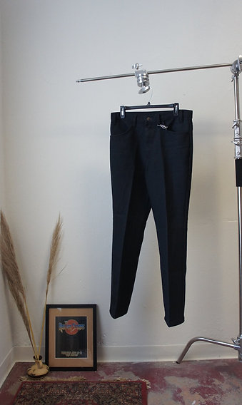 70s Sta-Prest Black Levi Jeans