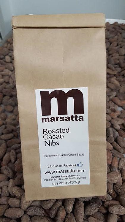 Roasted Cacao Nibs 3oz.