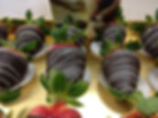 Organic vegan chocolate dipped strawberries