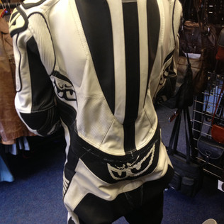Alteration to motorcycle suit