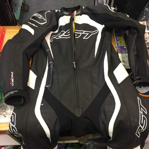 RST suit too small.