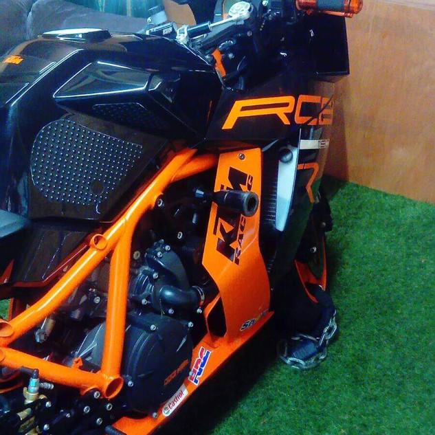 Image of RST customer bike