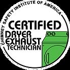Cetified Dryer Exhaust Technician