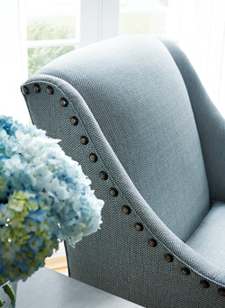 Mosaic-blue chair - thib
