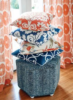orangenavy_pillows - thibaut