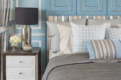 blue bedding - shutterstock_326578553