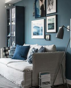 ben moore blue living room FB