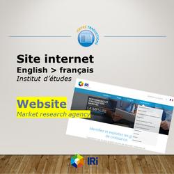 Site web 2018 IRI 2018