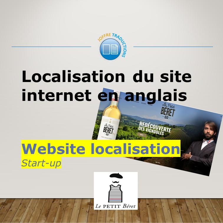 Site Web LE PETIT BERET 2019