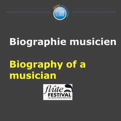 biographie musicien
