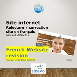 Site web Séissmo 2020