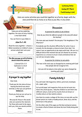 TatH - 22.03.2020 - Lectionary based Res