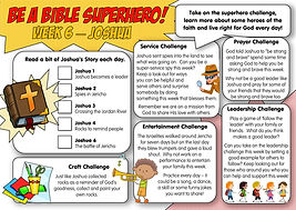 Summer Superheroes - Week 6 - Joshua-pag