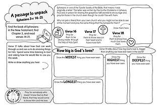 A passage to unpack - Ephesians 3 v 14-2