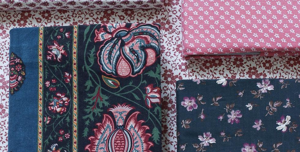 Tekstil-cover notisblokk/ hyttebok