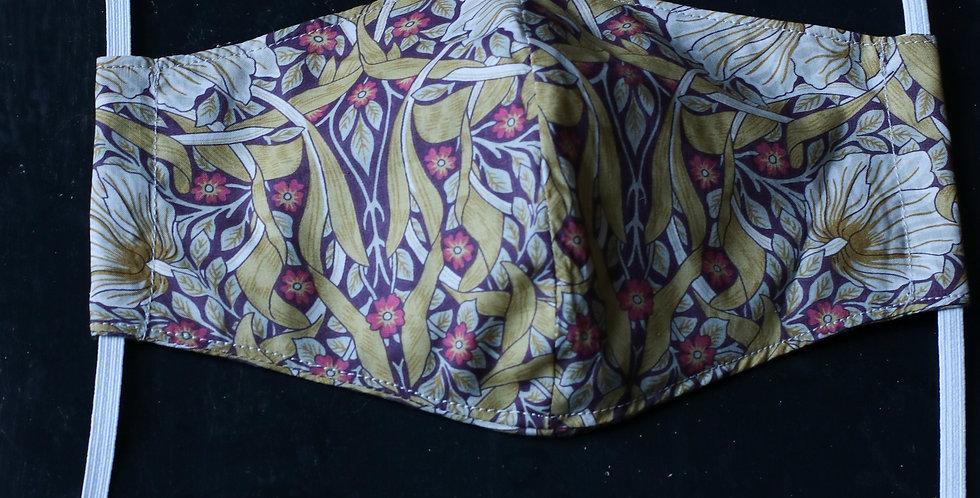 Munnbind av Liberty tekstil/ Morrison
