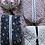 Thumbnail: Make-up pung med sort blomstret tekstil
