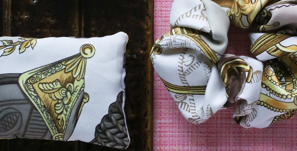Lavendelpose av Hermès