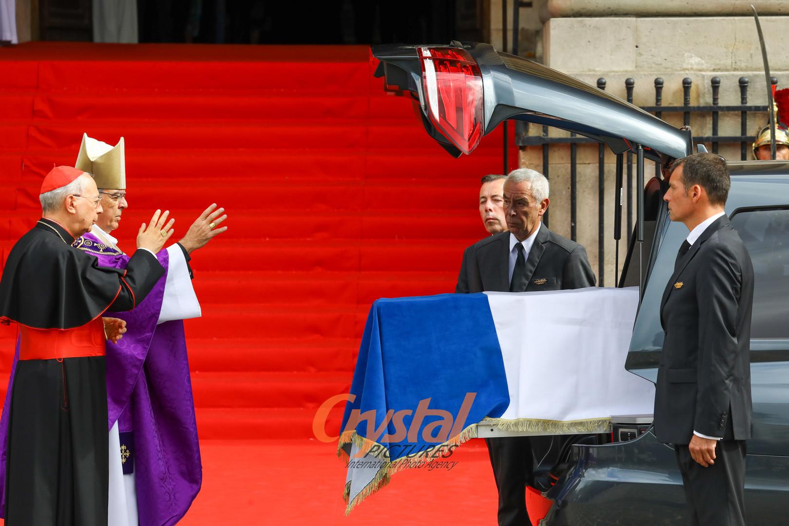 Obsèques de Jacques Chirac, Saint-Sulpice, Paris.