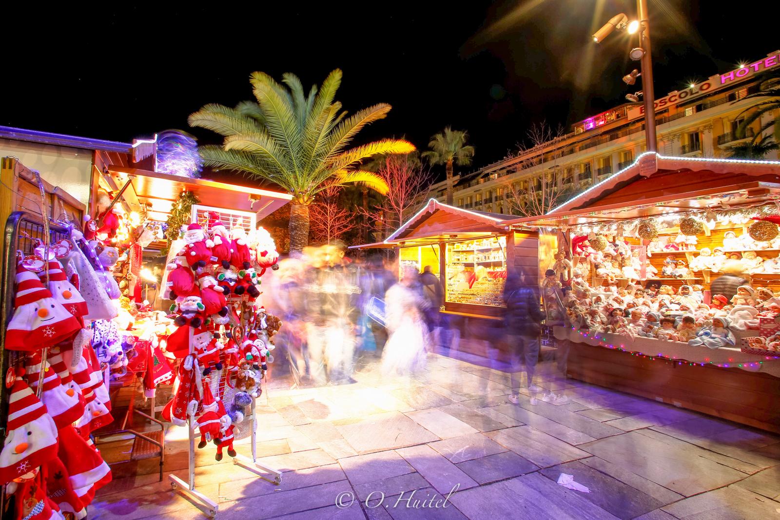 Le Marché de Noël de Nice.
