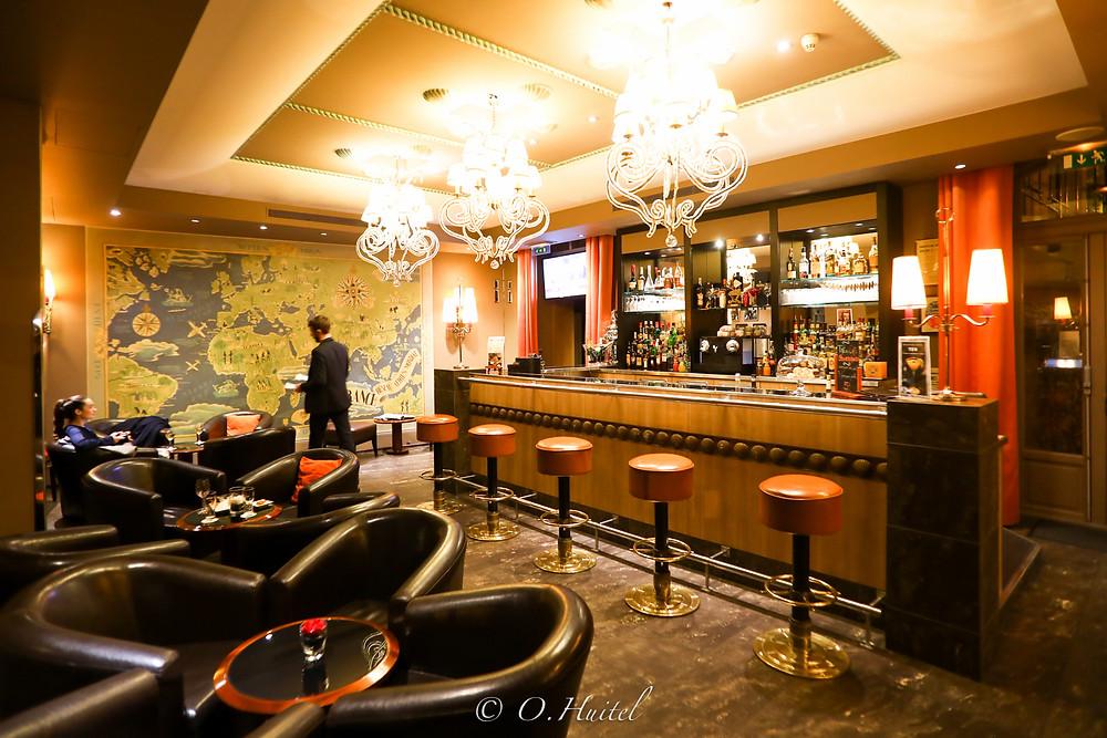 Le Duke, bar de l'hôtel Ellington. Photo © Olivier Huitel.